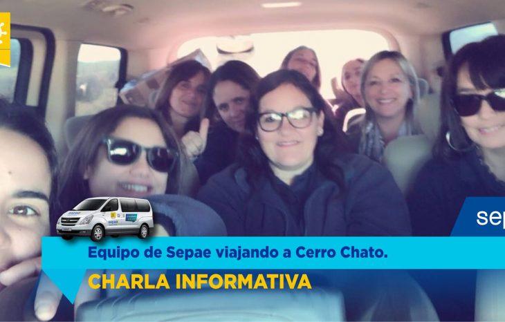 Charla informativa en Cerro Chato