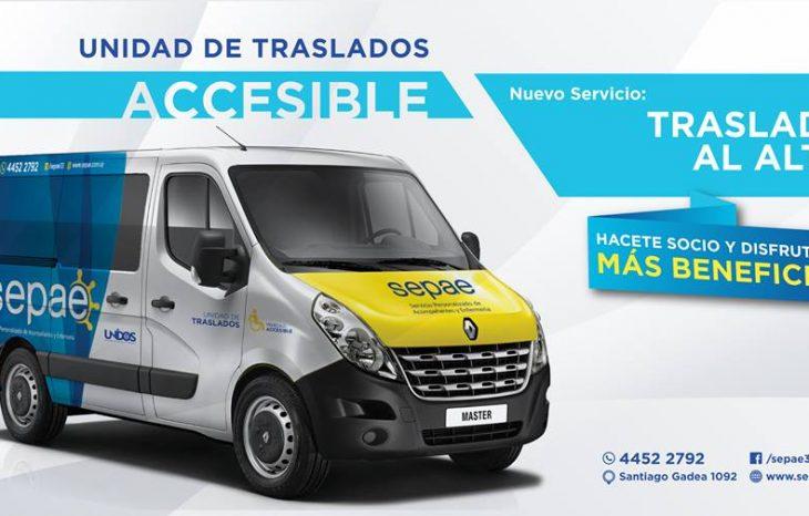 Incorporamos unidad de traslados Accesible